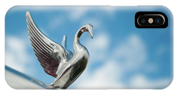 Chrome Swan IPhone Case