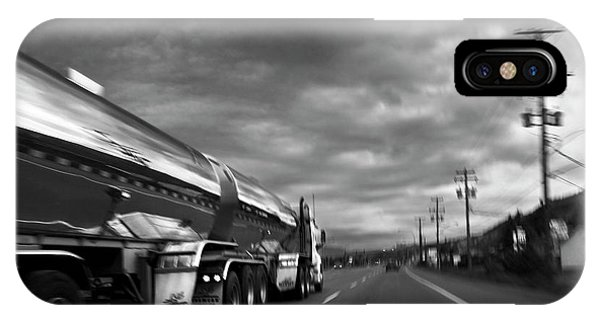 Chrome Tanker IPhone Case