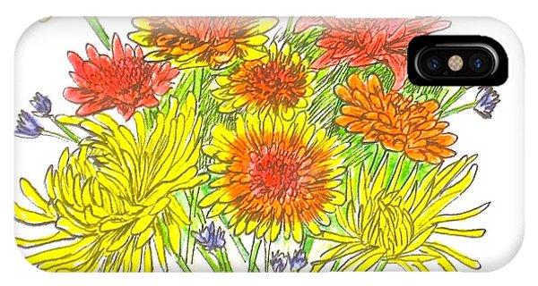 Chrysanthemums IPhone Case