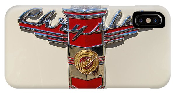 Chrysler Hood Logo IPhone Case