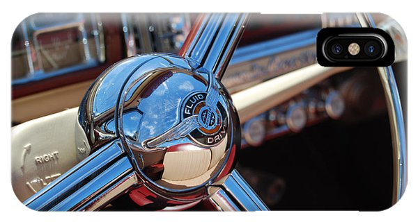 Chrysler Town And Country Steering Wheel Phone Case by Larry Keahey