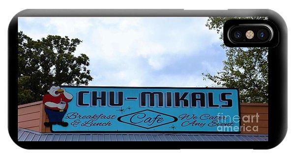 Chu - Mikals - Friendly Austin Texas Charm IPhone Case
