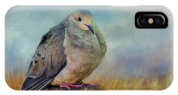 Chubby Dove IPhone Case