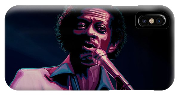 Missouri iPhone Case - Chuck Berry by Paul Meijering