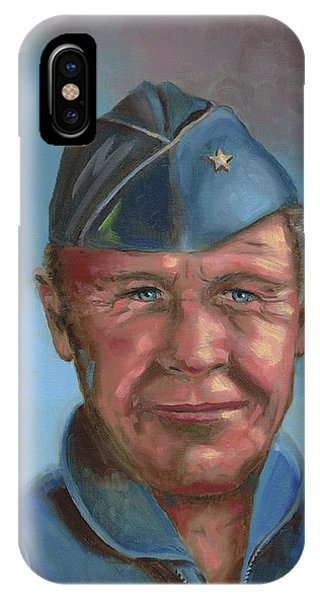 Chuck Yeager IPhone Case
