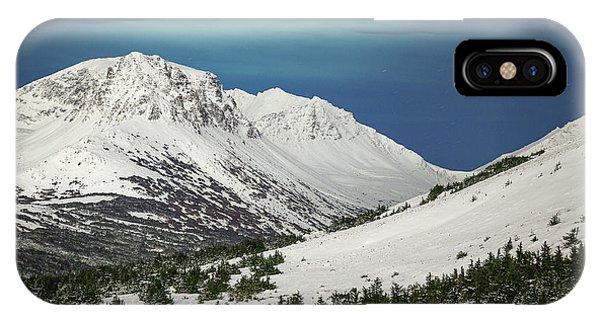 IPhone Case featuring the photograph Chugach Night by Tim Newton