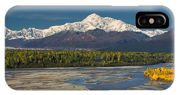 Chulitna's Path IPhone Case