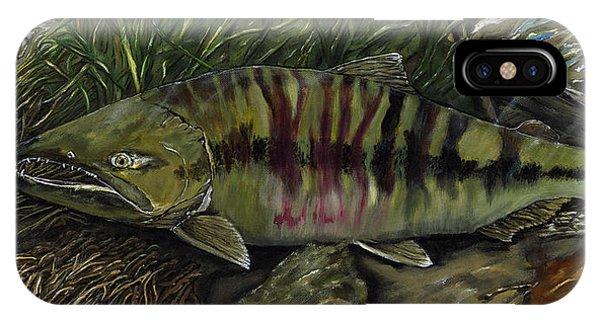 Chum Salmon IPhone Case