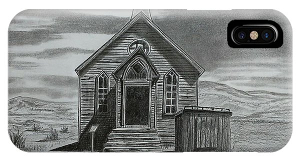 Church  At Bodie  IPhone Case
