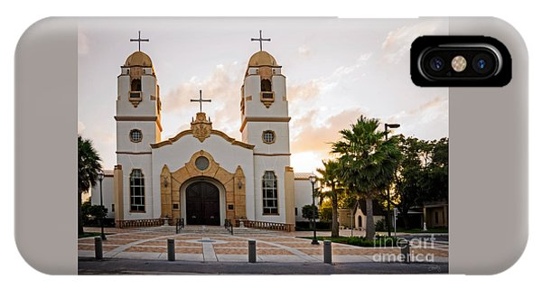 Church At Sunset IPhone Case