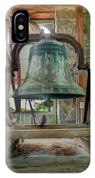 IPhone Case featuring the photograph Church Bell 1783 by Jim Proctor