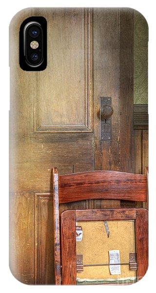 Church Chair IPhone Case
