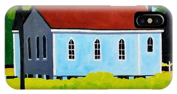 Church, Dailsville Rd Phone Case by Lesley Giles
