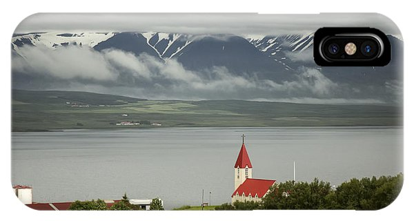 Church In Akureyri IPhone Case