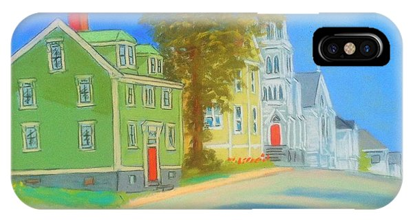 Church In Lunenburg IPhone Case