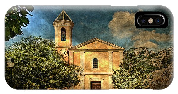 Church In Peillon IPhone Case