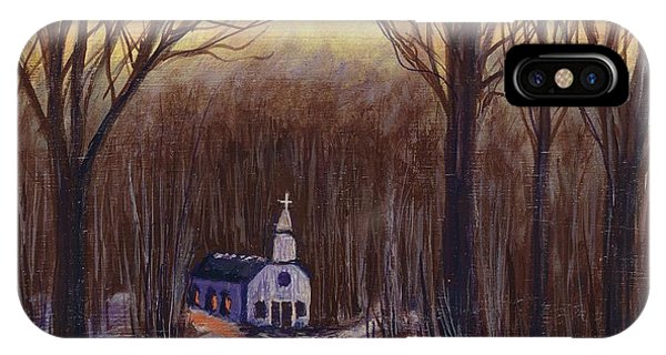 Church In The Woods  IPhone Case