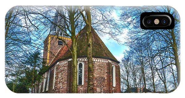 Church In Winsum IPhone Case