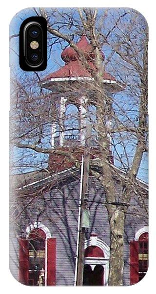 iPhone Case - Church In Woods by Pharris Art