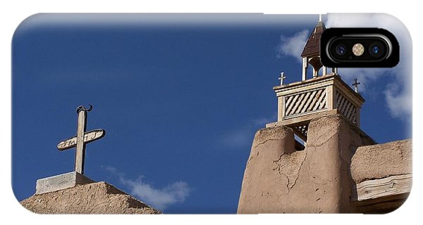 San Jose De Gracia Church, Las Trampas, N.m. IPhone Case