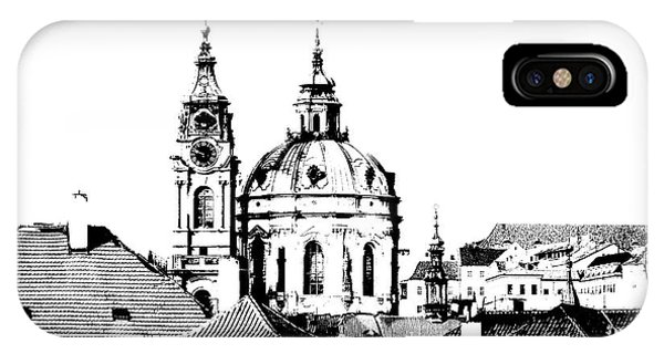 Church Of St Nikolas IPhone Case