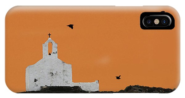 Church On A Hill IPhone Case