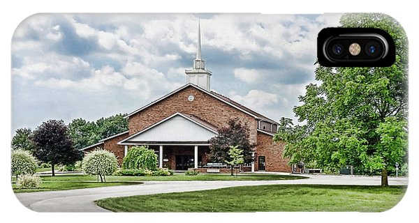 Church On Coldwater IPhone Case