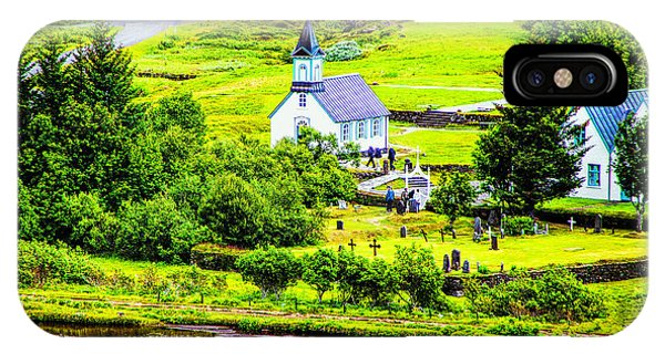 Church On The Green IPhone Case