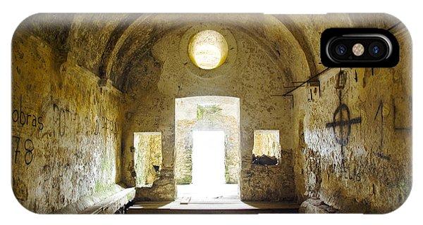 Dungeon iPhone Case - Church Ruin by Carlos Caetano