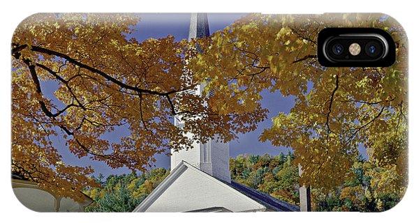 Church, Sharon Vermont IPhone Case