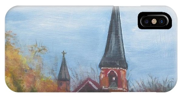 Church Steeple IPhone Case