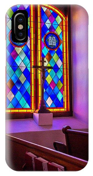 Church Window Art IPhone Case