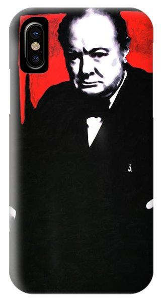 Churchill IPhone Case