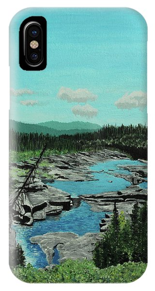Churchill River IPhone Case
