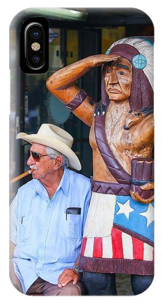 Cigar Indian IPhone Case