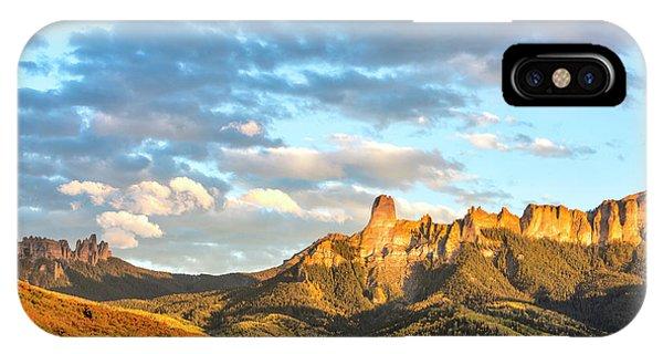 Cimarron Sunset In Autumn IPhone Case