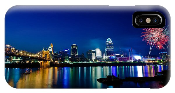 Cincinnati Boom IPhone Case