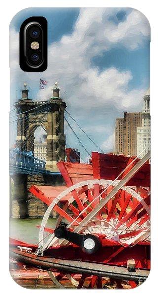 Cincinnati Landmarks 1 IPhone Case