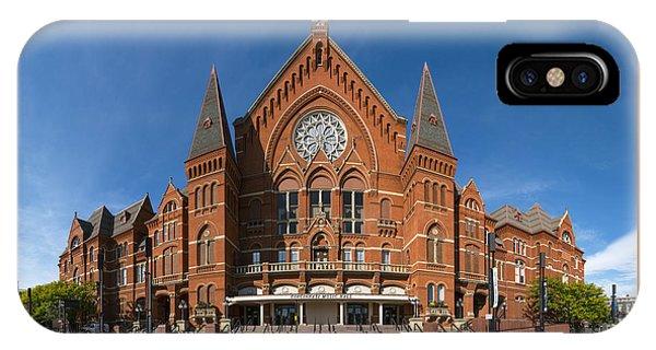 Cincinnati Music Hall IPhone Case