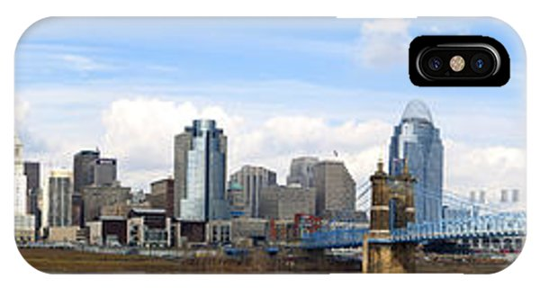 Cincinnati Panorama IPhone Case