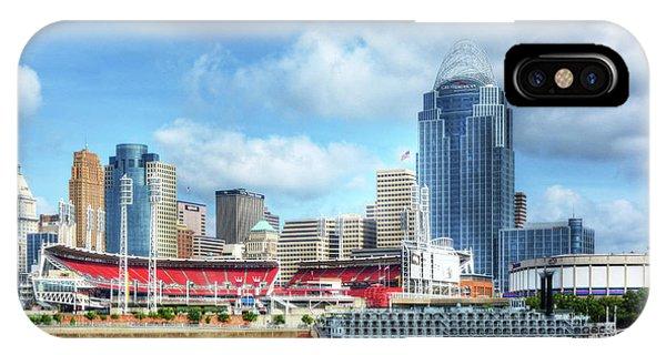 Cincinnati River Days 2 IPhone Case