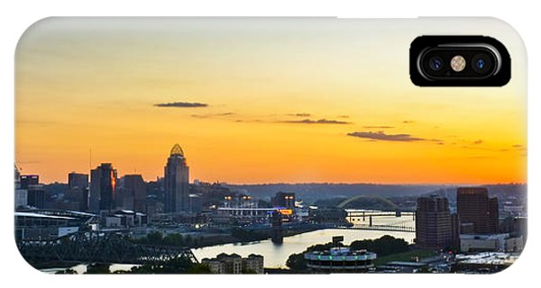 Cincinnati Sunrise II IPhone Case