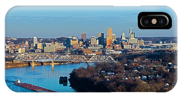 Cincinnati View From The West IPhone Case