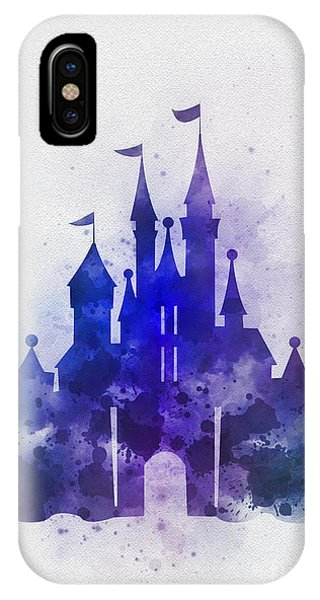 Fairy iPhone Case - Cinderella Castle Blue by My Inspiration