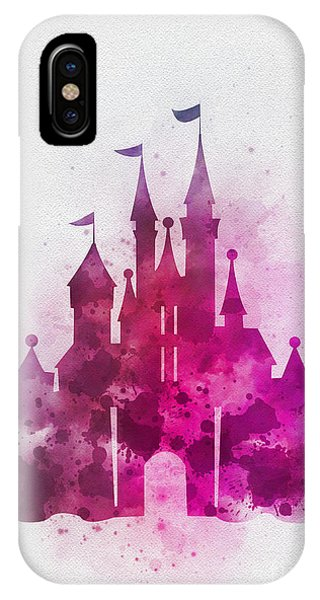 Fairy iPhone Case - Cinderella Castle Pink by My Inspiration