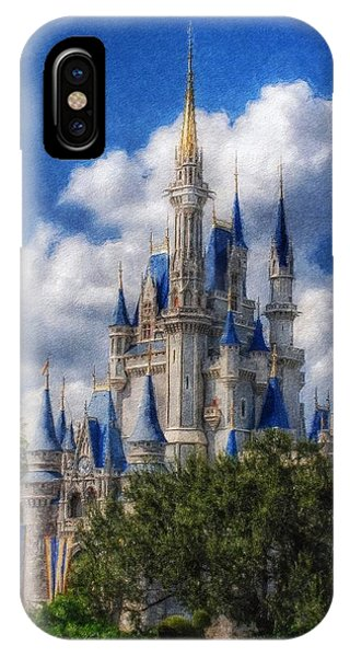 Cinderella Castle Summer Day IPhone Case