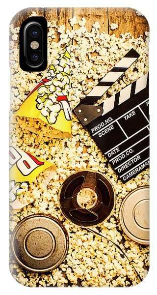 Industry iPhone Case - Cinema Of Entertainment by Jorgo Photography - Wall Art Gallery