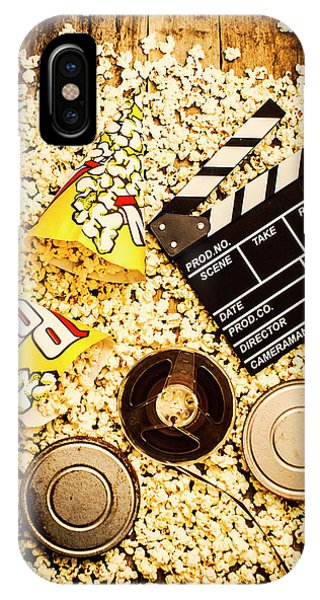 Roll iPhone Case - Cinema Of Entertainment by Jorgo Photography - Wall Art Gallery