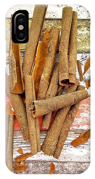 Cinnamon Bark IPhone Case