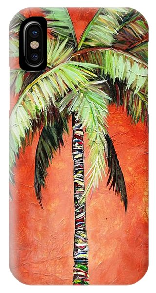 Cinnamon Palm IPhone Case